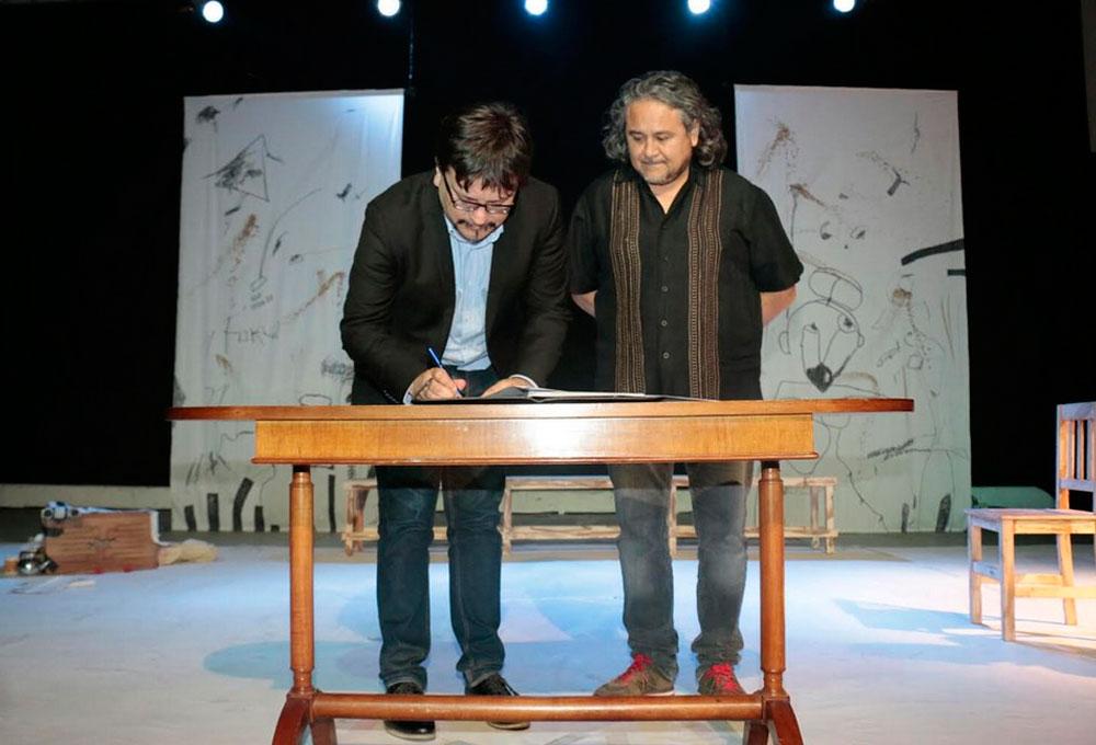 Ibacache y Alcalde Juan Carrasco